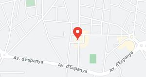 Mapa Oficina Palafrugell