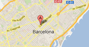Mapa Oficina Barcelona