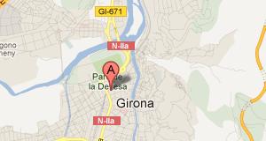 Mapa Oficina Girona